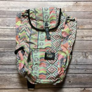 VS PINK AZTEC PRINT BACKPACK